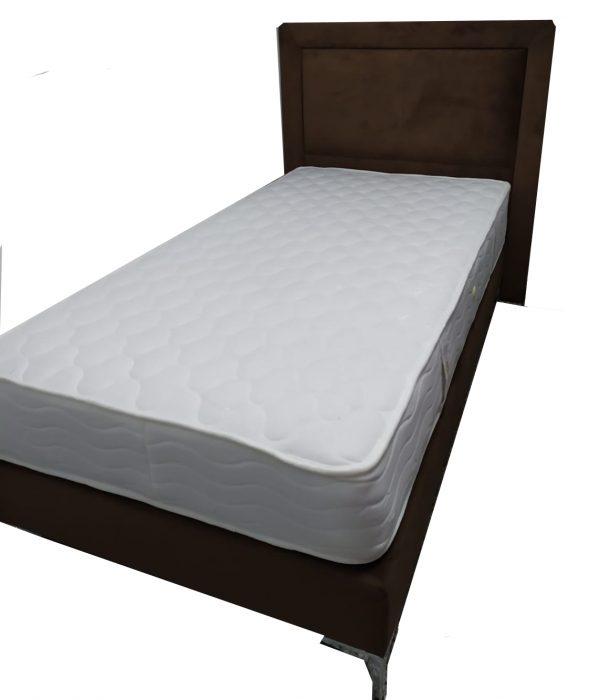 מיטת יחיד דגם פורש בצבע חום