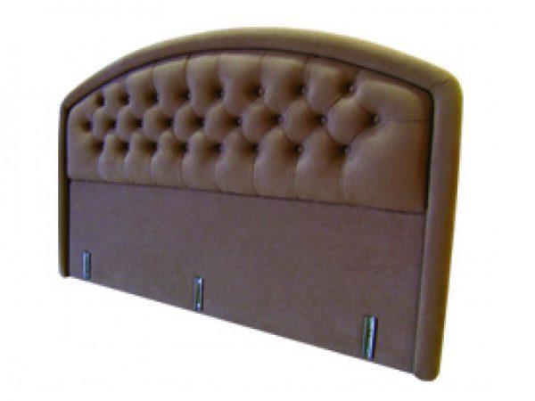 מיטה זוגית מרופדת מפוארת דגם יהלום Camp David כולל מזרון