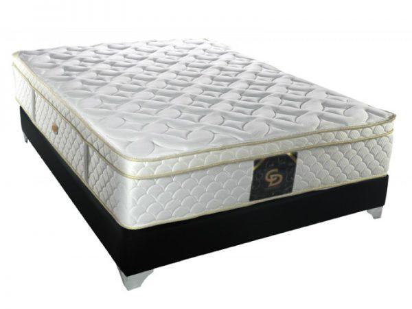 אנטומיק ספא לטקס פוקט מזרן זוגי אורתופדי משולב קפיצים מבודדים למיטה + חצי Camp David