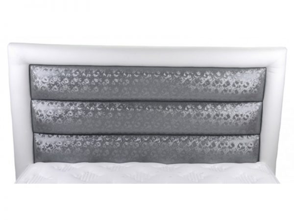 מיטה זוגית מרופדת מפוארת דגם ספיר CAMP DAVID כולל מזרון