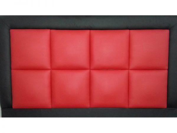 מיטה זוגית מרופדת מפוארת דגם טופז כולל מזרון